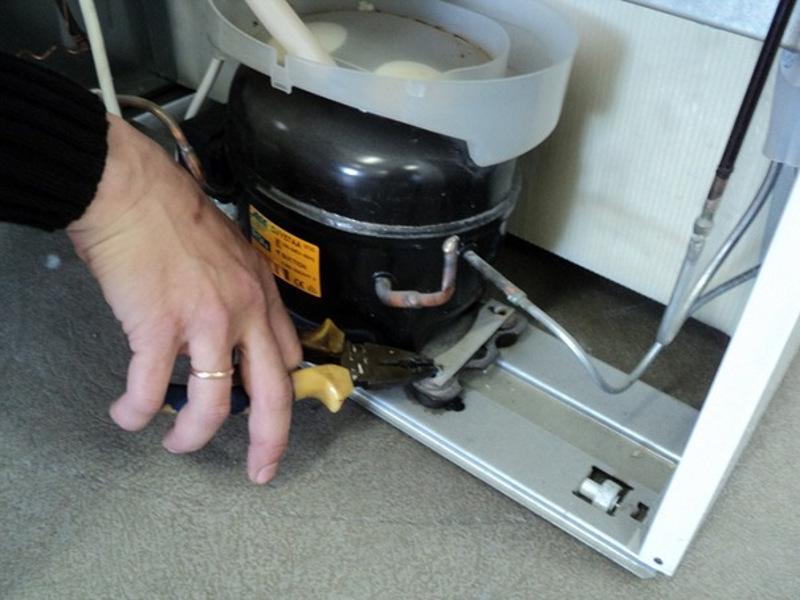 Замена мотора компрессора холодильника своими руками 51